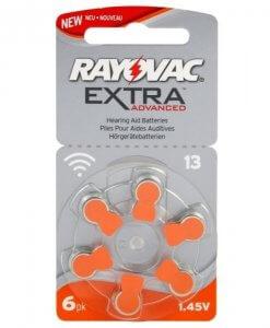 Rayovac elementai klausos aparatams 13 Biomedikos centras