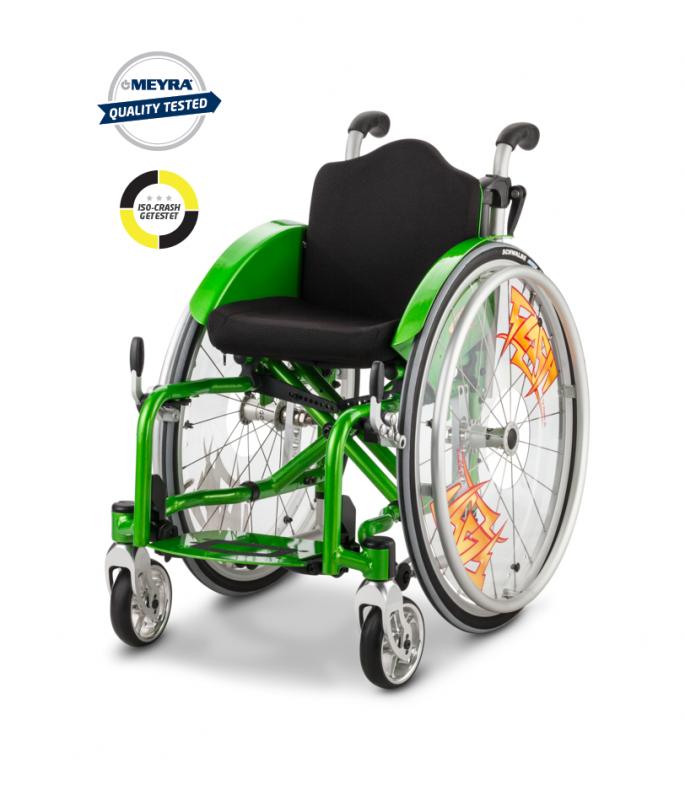 Aktyvaus tipo vežimėlis Meyra Flash