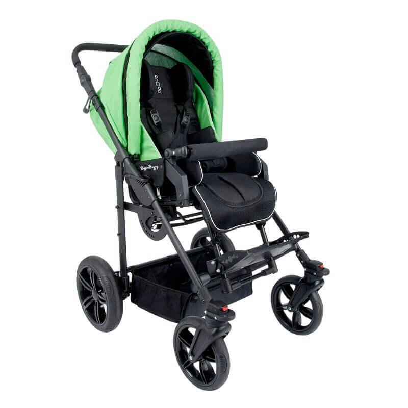 Palydovo valdomas neįgaliojo vežimėlis BAFFIN BUGGY