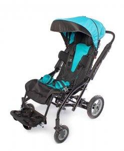 Vaikiškas palydovo valdomas vežimėlis Caretta Buggy