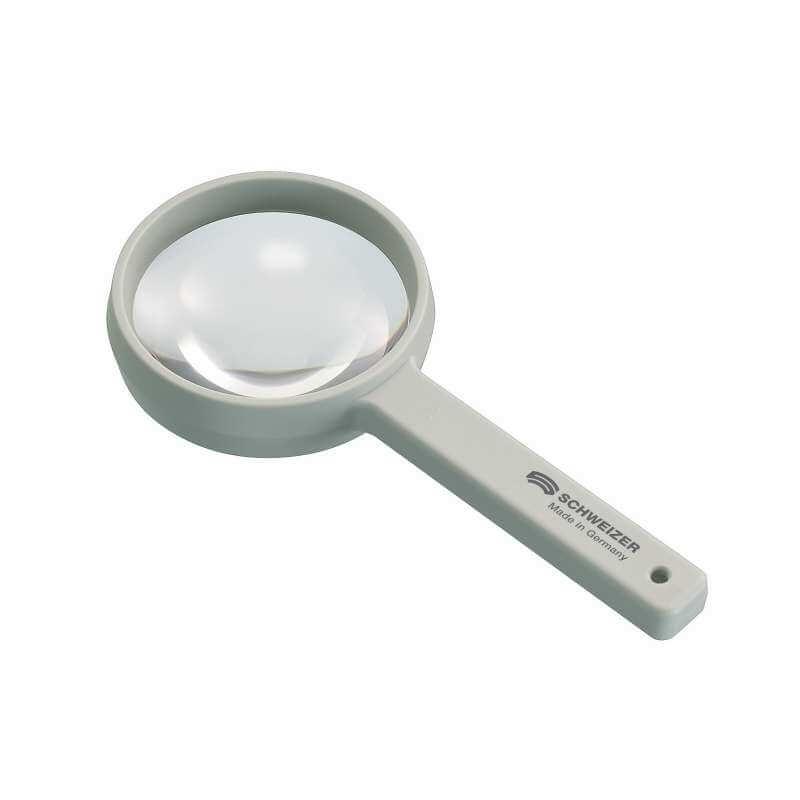 Rankinis didinamasis stiklas be apšvietimo FUNCTIONAL 12 D