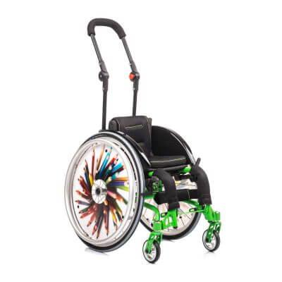 Aktyvaus tipo neįgaliojo vežimėlis amiGO