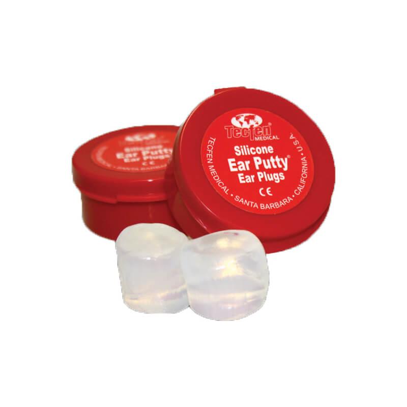 Standartiniai silikoniniai ausų įdeklai nuo vandens