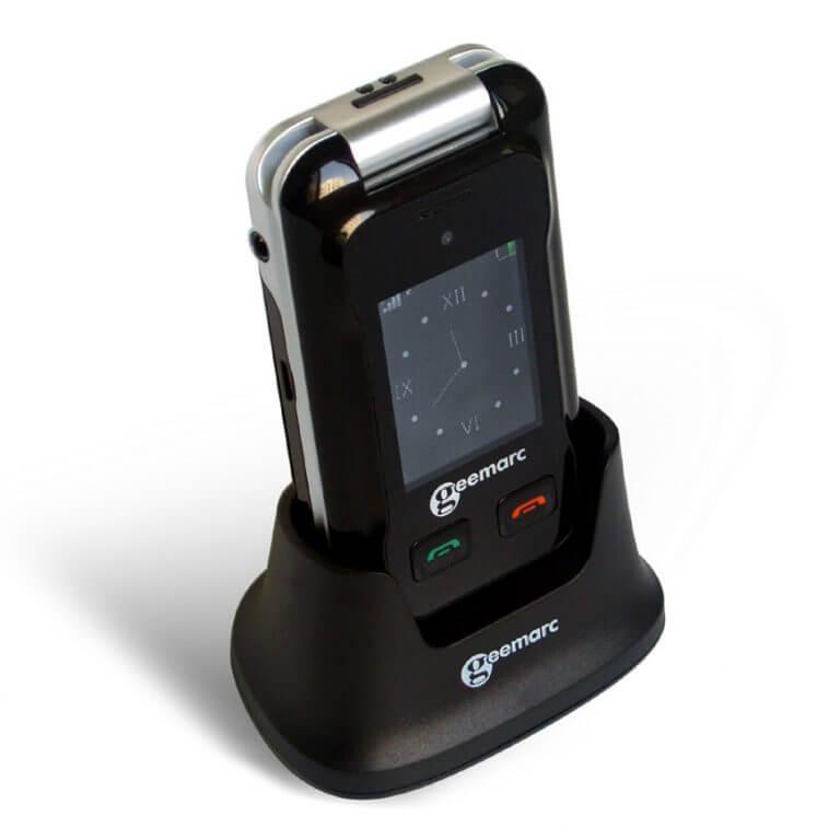Mobilus telefonas klausos sutrikimų turintiems žmonėms