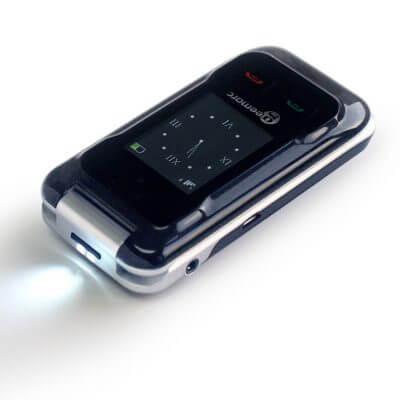 Mobilus telefonas turintiems klausos sutrikimų