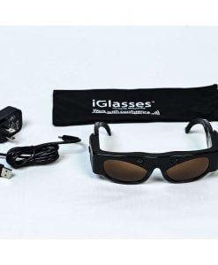 Elektroninis orientavimo prietaisas akiniai