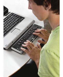 Nesiojamasis elektroninio Brailio rasto itaisas Brilliant BI 32