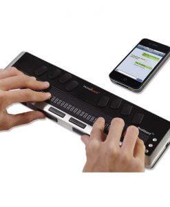 Nesiojamasis elektroninio Brailio rasto itaisas Brilliant BI 80