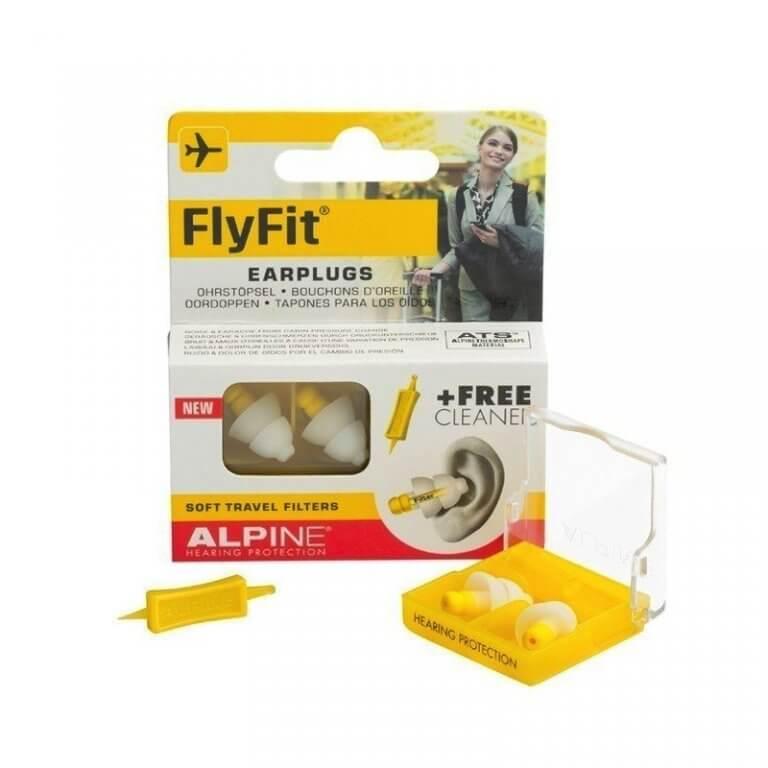 Ausų kaištukai skyrdziams ir kelionems FlyFit