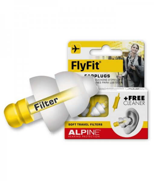 Ausu kaistukai skyrdziams ir kelionems FlyFit 2