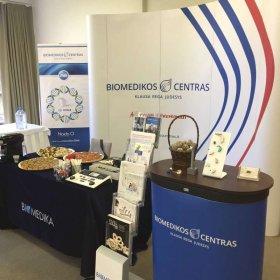 Biomedikos centras ANG konferencijoje