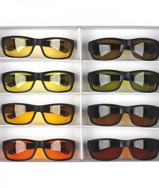 Apsauginiai akiniai filtrai