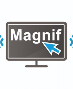 Dolphin magnifier and speech