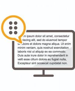 Dolphin screen reader