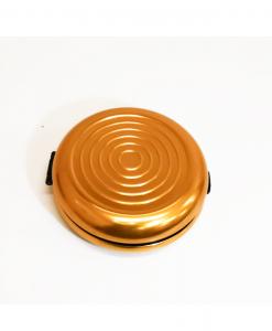 Euro monetų piniginė auksinė