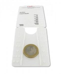 Euro valiutos atpažinimo kortelė