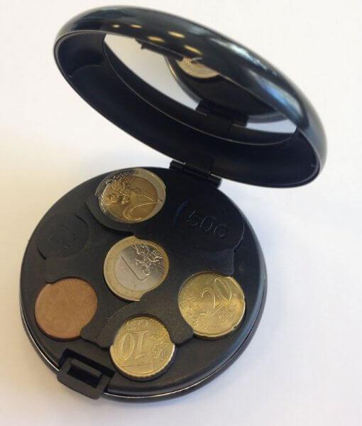 Euro monetų dėžutė 1
