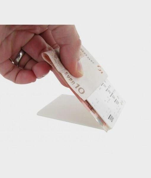 Euro valiutos atpažinimo priemonė