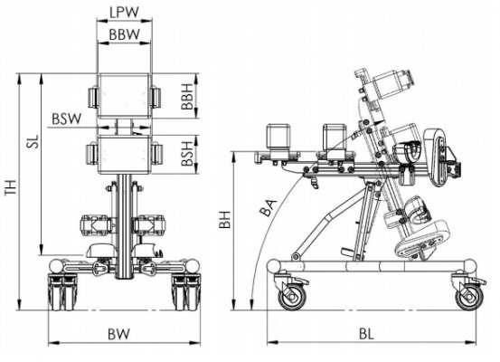 lori techninės specifikacijos