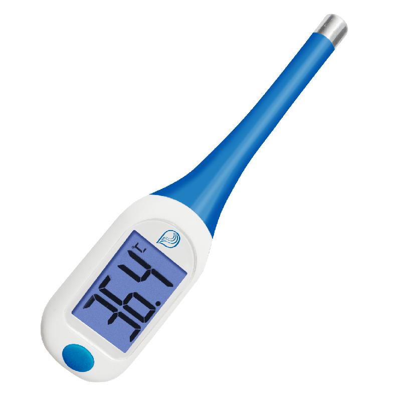 Skaitmeninis kūn termometras (kalbantis)