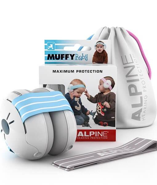 Asauginės-ausinės-kūdikiams-Alpine Baby-komplektas
