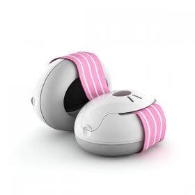 Asauginės-ausinės-kūdikiams-Alpine Baby-rožinė
