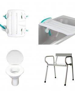 XXL tualeto ir vonios reikmenys