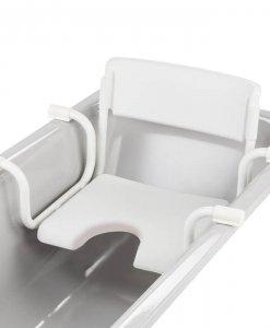 Dubastar vonios sėdynė su atlošu