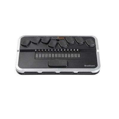 """Nešiojamasis elektroninio Brailio rašto įtaisas """"Brilliant BI 14"""""""
