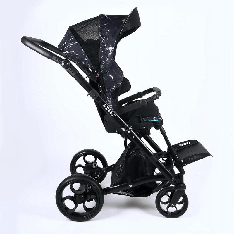 Vaikiškas palydovo valdomas vežimėlis Rico buggy RS