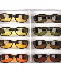 Filtriniai akiniai wraparound