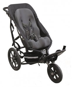 Palydovo valdomas vaikiškas vežimėlis Delta All Terrain for sitter seat