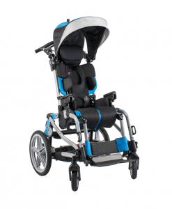 Vaikiškas palydovo valdomas vežimėlis TRAK