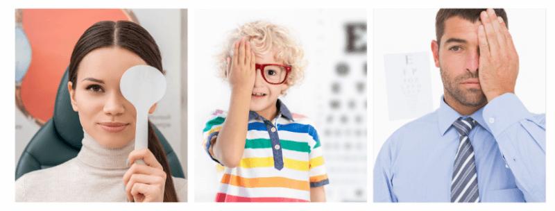 Akių testas