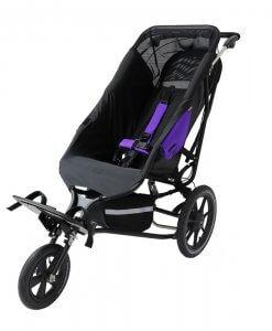 Vaikiškas palydovo valdomas vežimėlis Delta Recline All Terrain